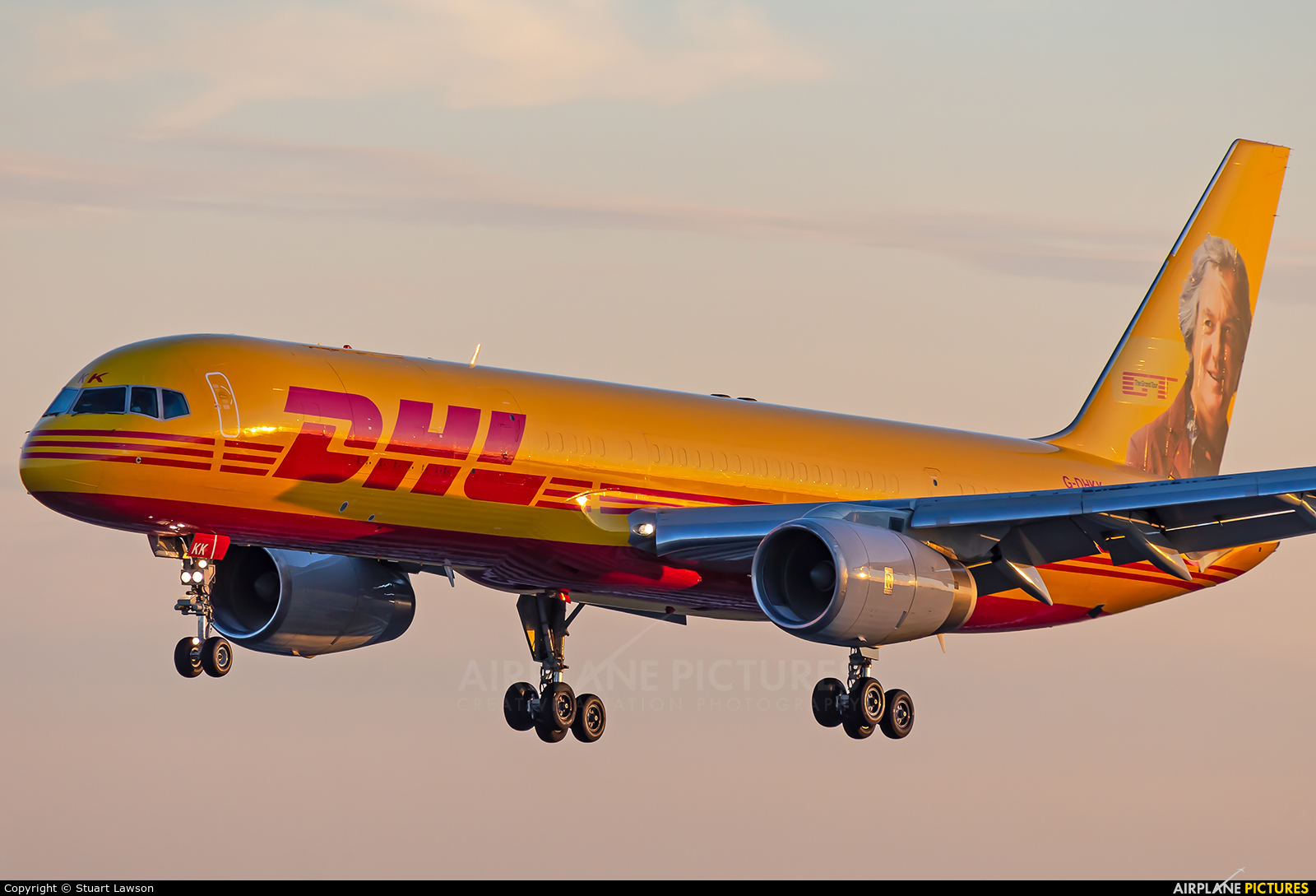 DHL Cargo G-DHKK aircraft at East Midlands
