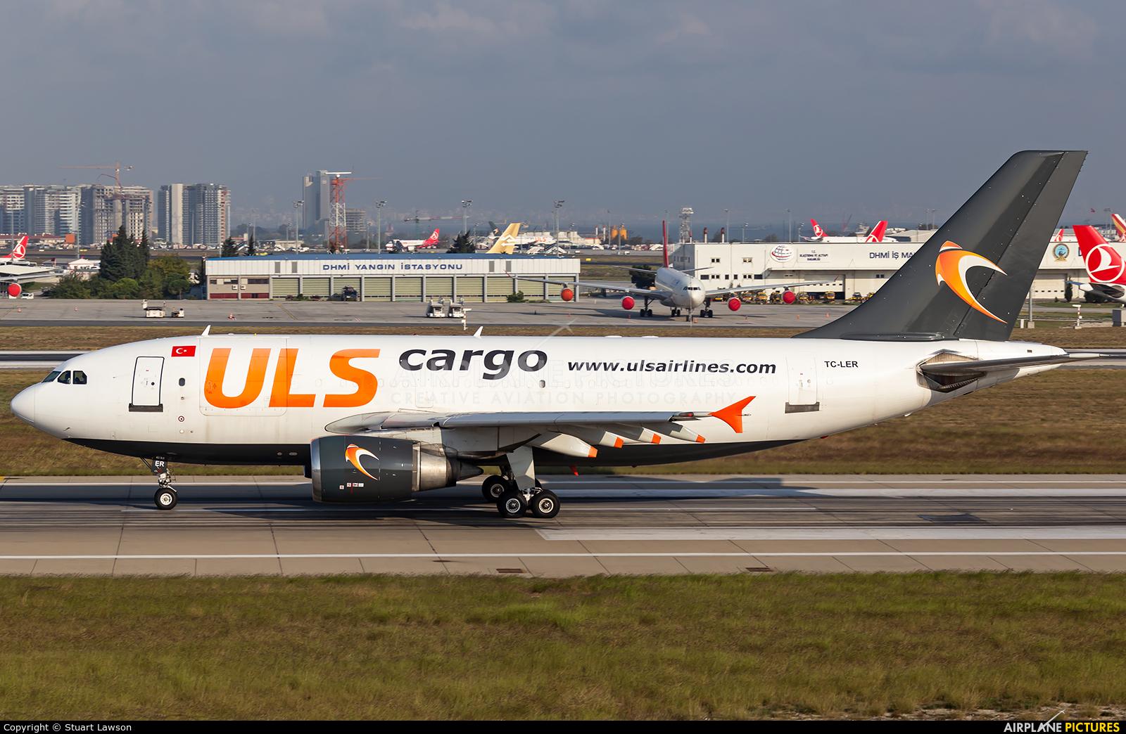 ULS Cargo TC-LER aircraft at Istanbul - Ataturk