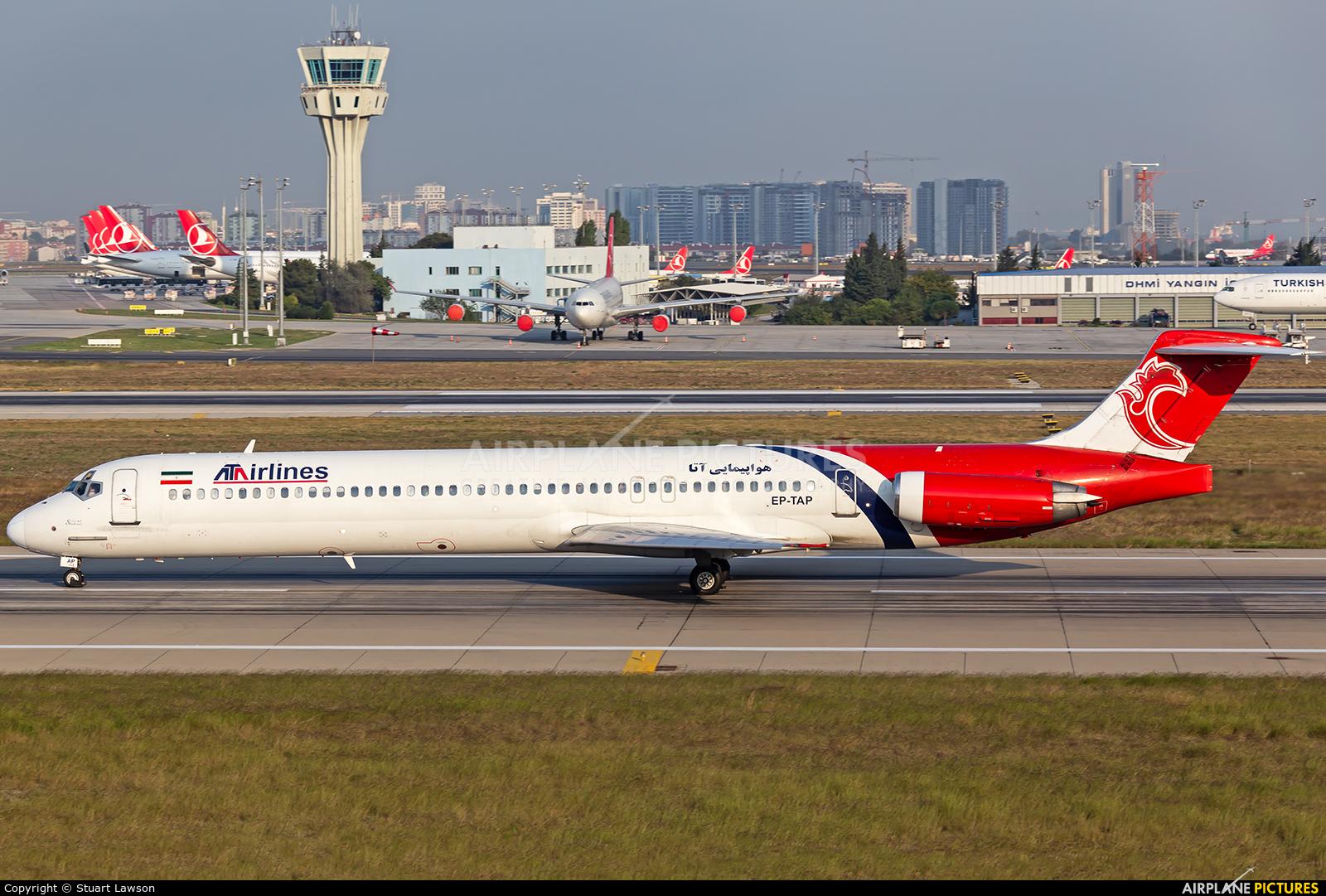ATA Airlines Iran EP-TAP aircraft at Istanbul - Ataturk