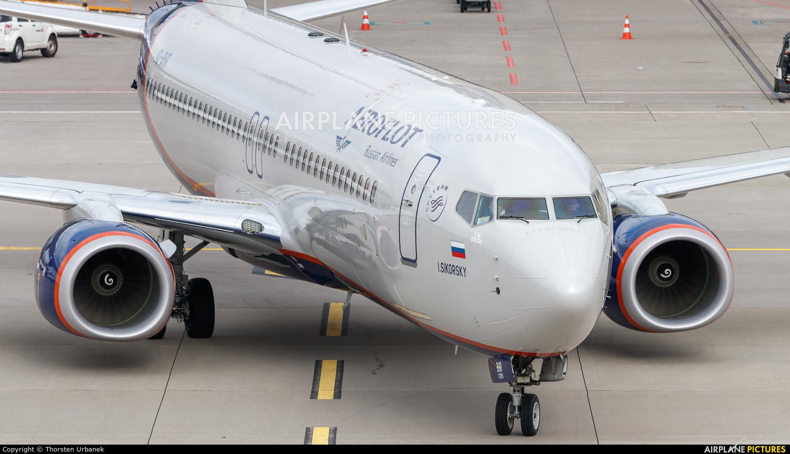 Aeroflot VQ-BHR aircraft at Zurich