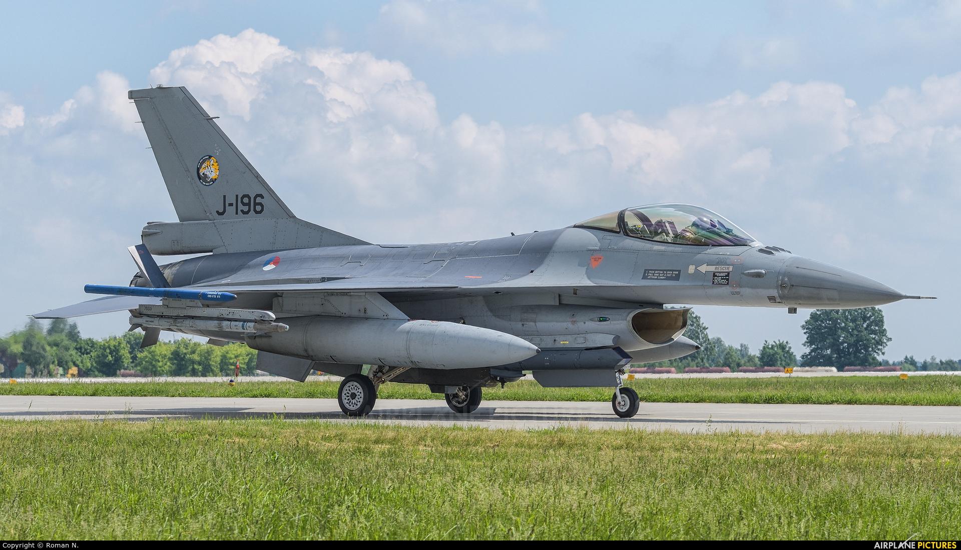 Netherlands - Air Force J-196 aircraft at Poznań - Krzesiny
