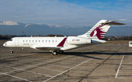 A7-CEE - Qatar Executive Bombardier BD-700 Global 5000 aircraft
