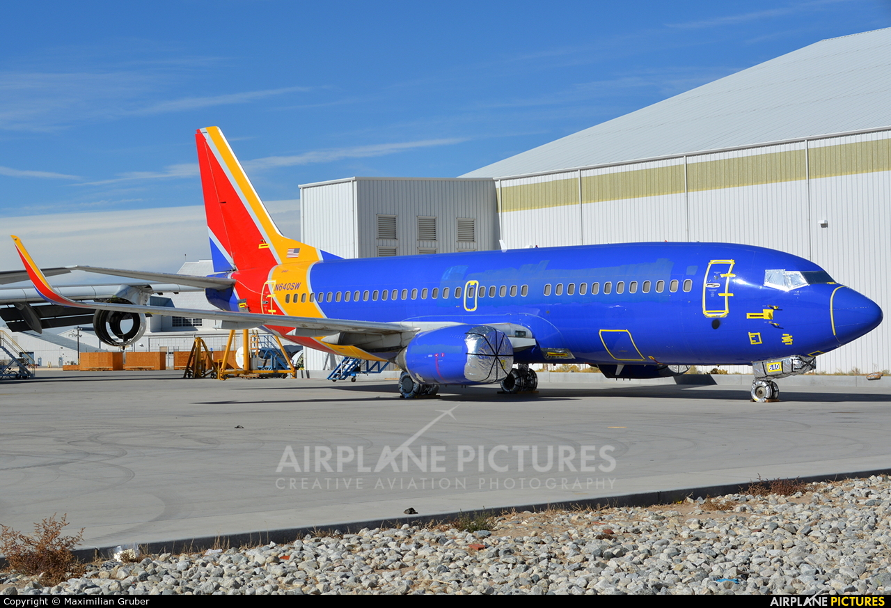 Southwest Airlines N640SW aircraft at Victorville - Southern California Logistics