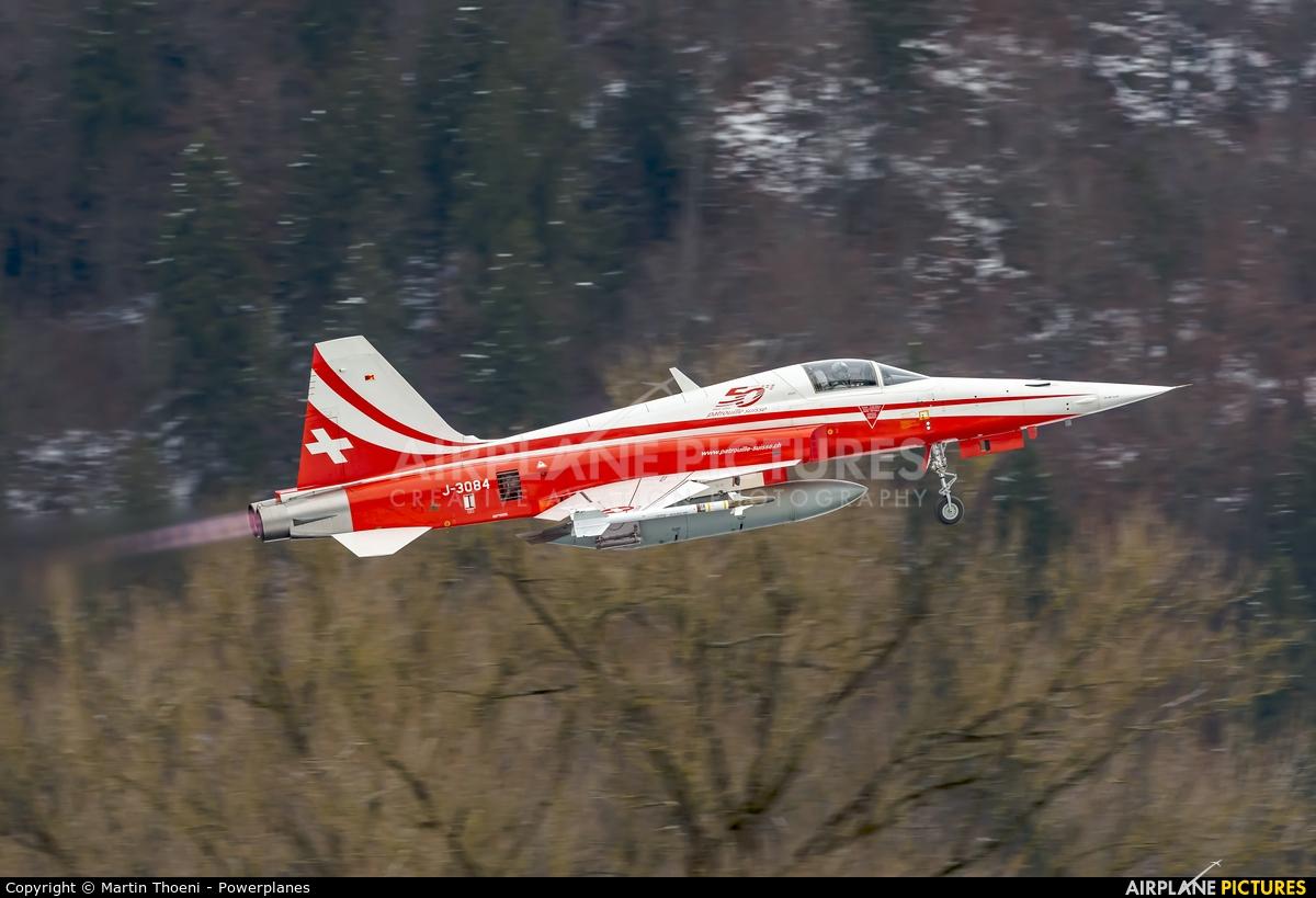 Switzerland - Air Force J-3084 aircraft at Meiringen