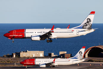 LN-BKD - Norwegian Air Shuttle Boeing 737-8 MAX