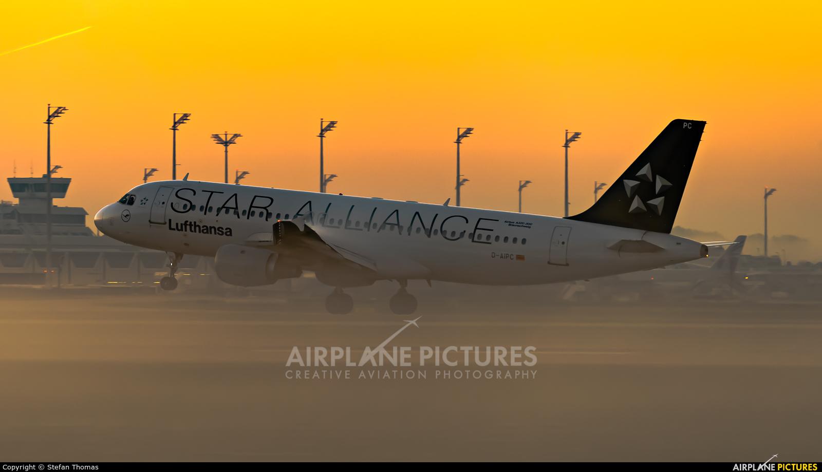 Lufthansa D-AIPC aircraft at Munich