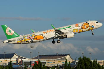 B-16205 - Eva Air Airbus A321