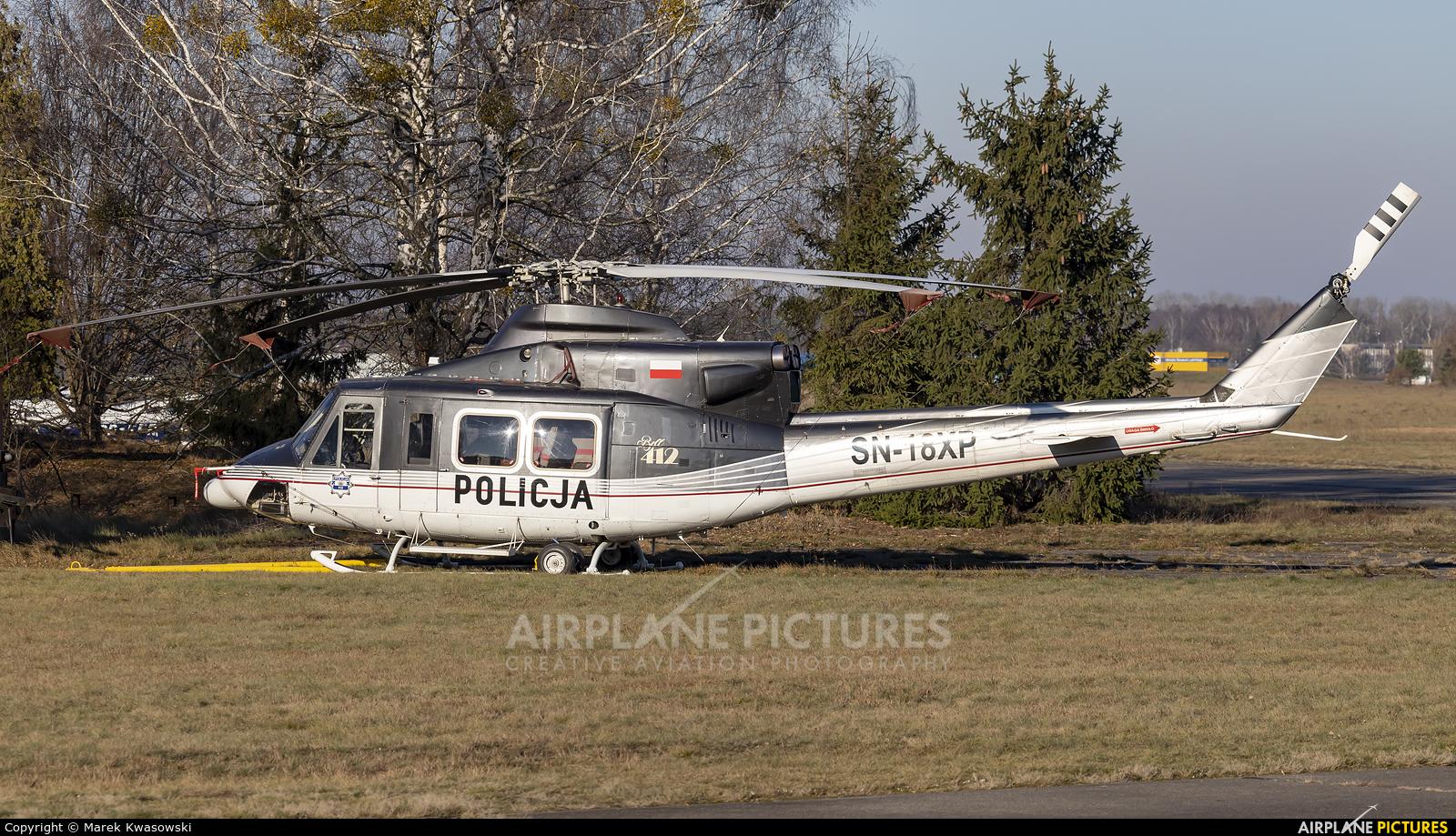 Poland - Police SN-18XP aircraft at Warsaw - Babice