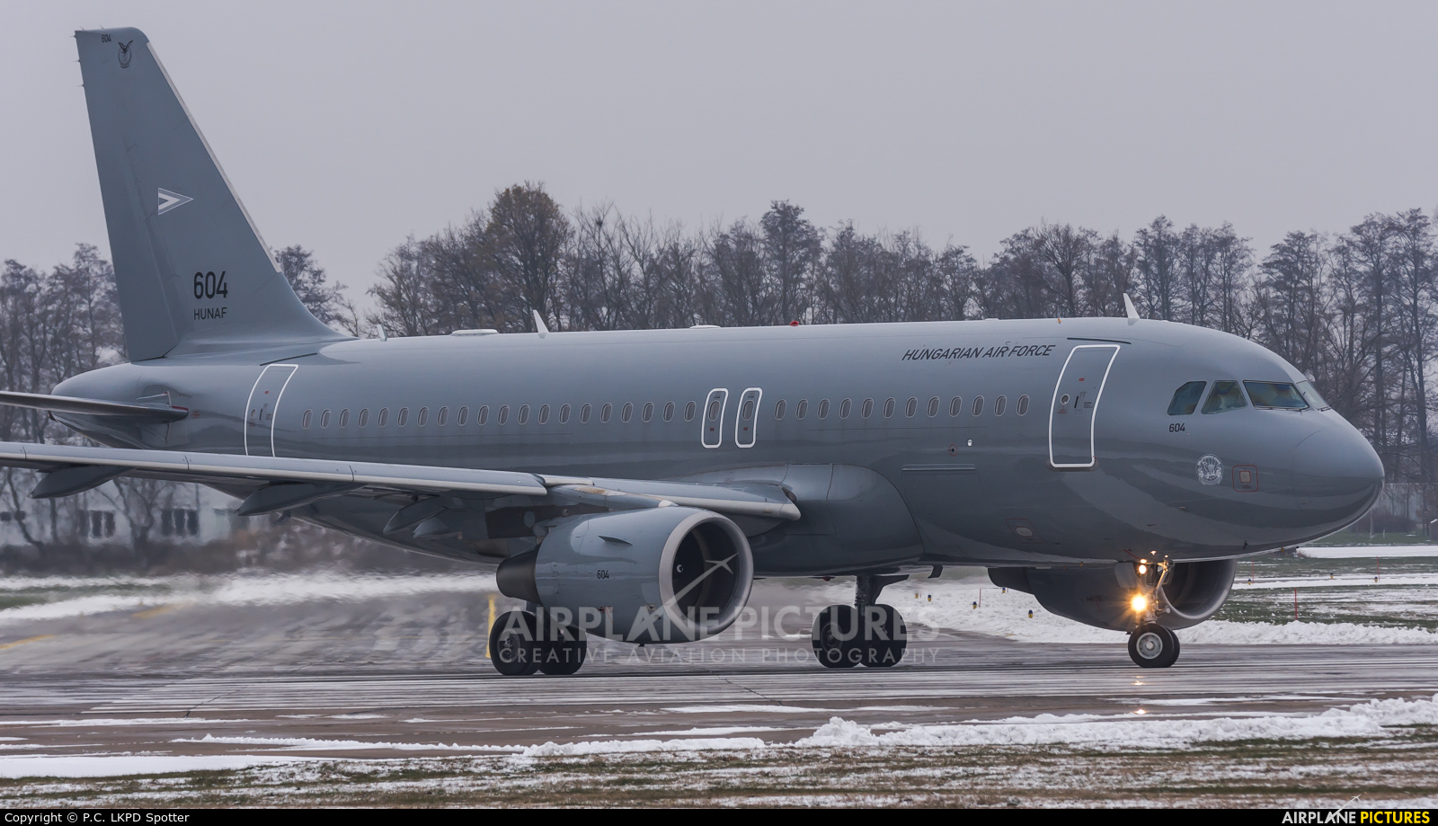 Hungary - Air Force 604 aircraft at Pardubice