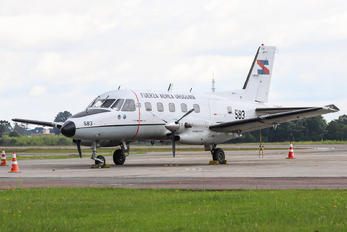 FAU583 - Uruguay - Air Force Embraer EMB-110 Bandeirante