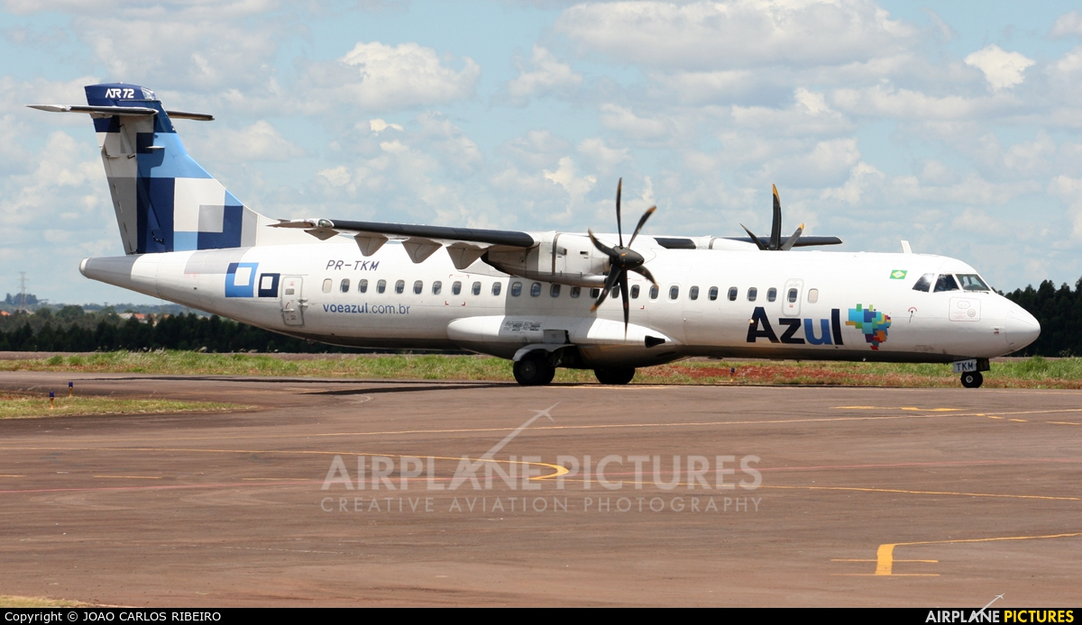 Azul Linhas Aéreas PR-TKM aircraft at Municipal Airport Cascavel