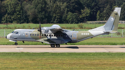 0455 - Czech - Air Force Casa C-295M