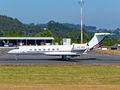 NetJets Europe (Portugal) Gulfstream Aerospace G-V, G-V-SP, G500, G550 CS-DKG at La Coruña airport