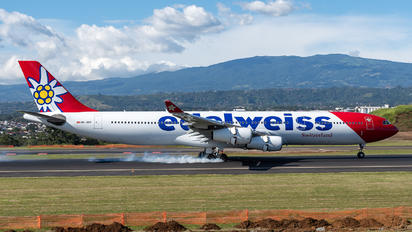 HB-JMD - Edelweiss Airbus A340-300