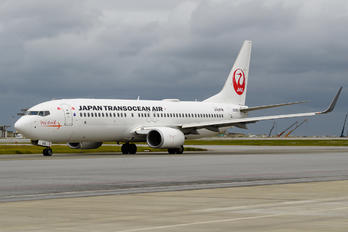 JA04RK - JAL - Japan Transocean Air Boeing 737-800