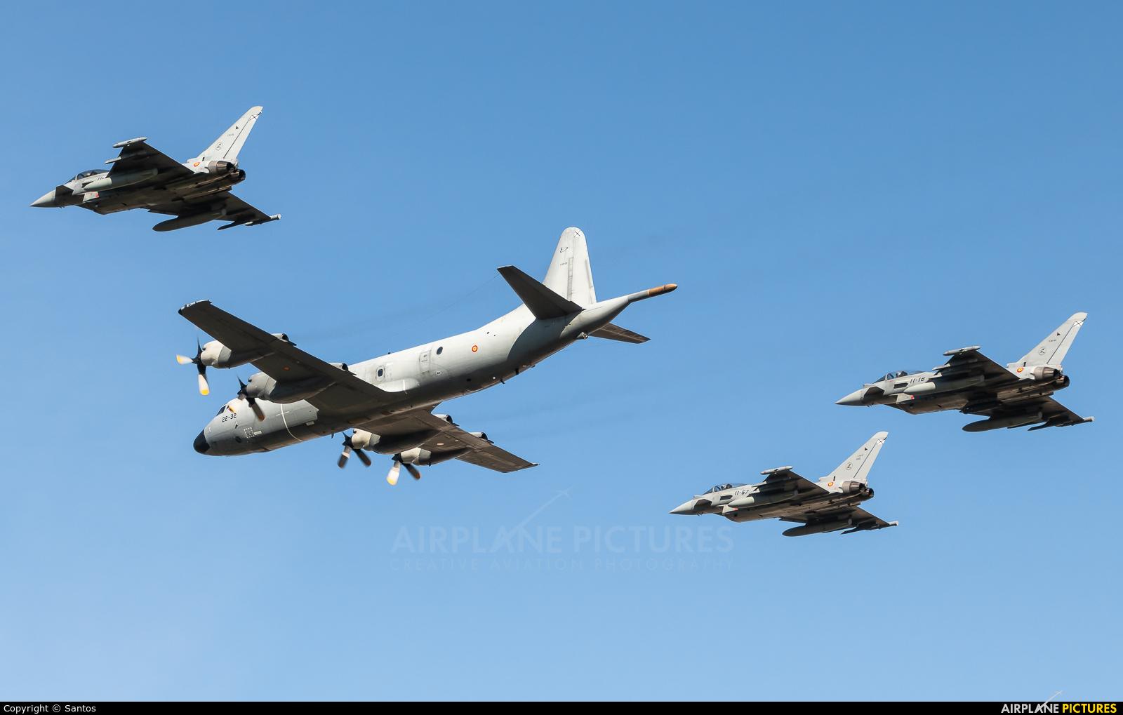 Spain - Air Force P.3M-09 aircraft at Tablada