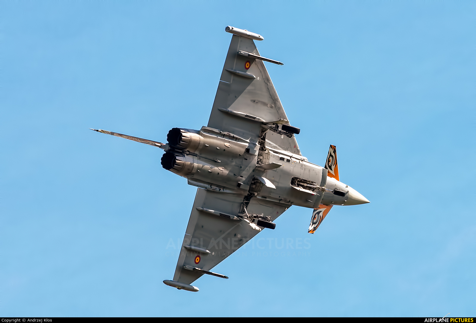 Spain - Air Force 14-31 aircraft at Ostrava Mošnov
