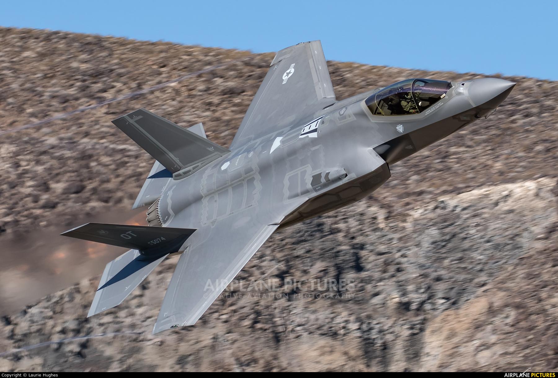 USA - Air Force 135074 aircraft at Rainbow Canyon - Off Airport