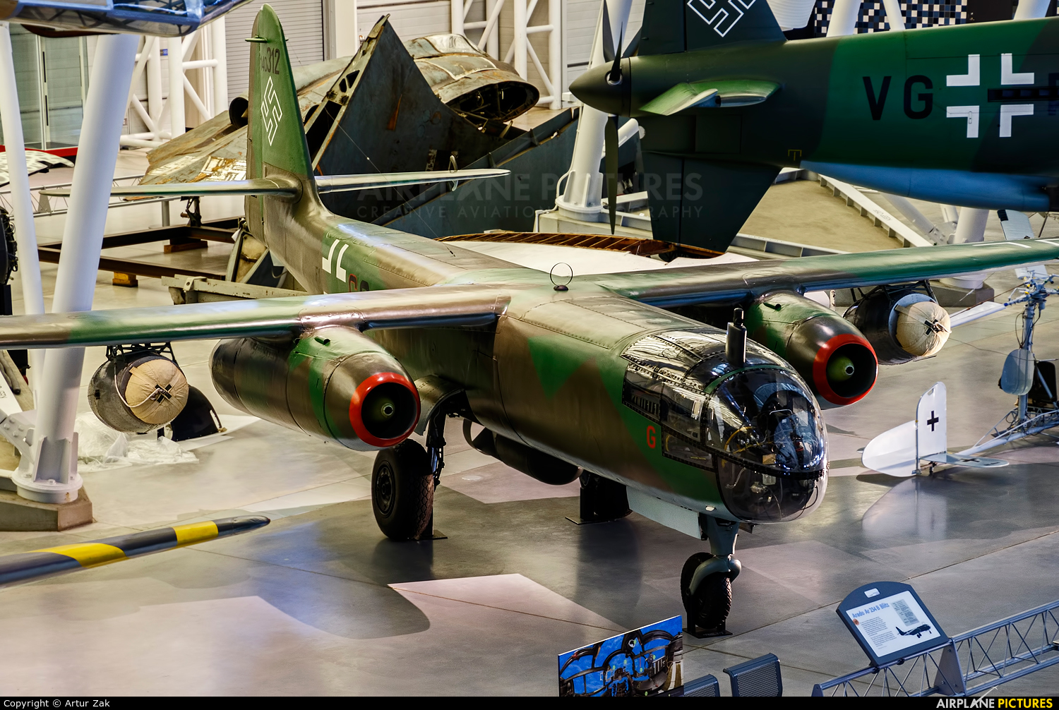 Germany - Luftwaffe (WW2) 140312 aircraft at Steven F. Udvar-Hazy Center