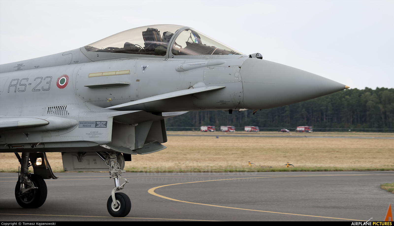 Italy - Air Force MM7278 aircraft at Radom - Sadków