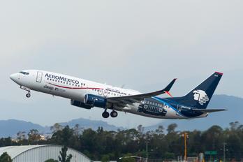 N845AM - Aeromexico Boeing 737-800