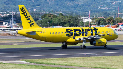 N602NK - Spirit Airlines Airbus A320