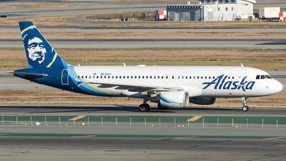 N638VA - Alaska Airlines Airbus A320