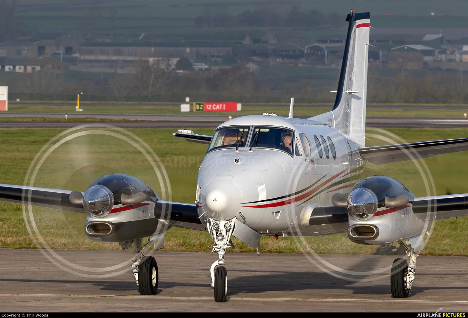 Wells Fargo Bank Northwest N95VB aircraft at Cardiff