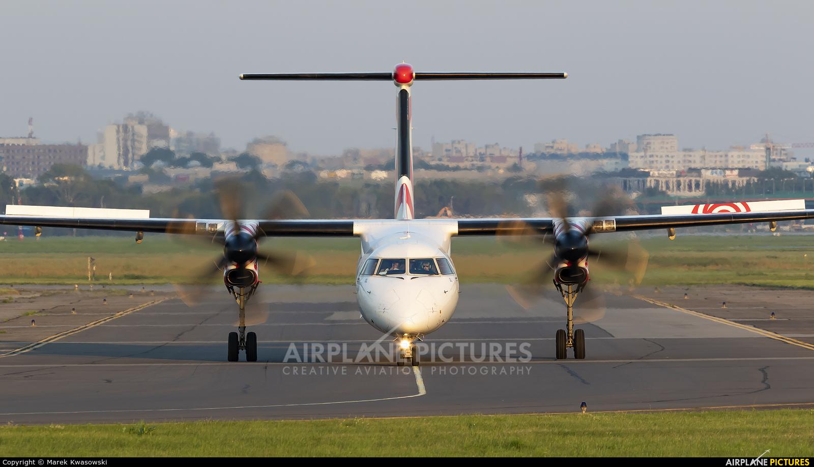 LOT - Polish Airlines SP-EQL aircraft at Warsaw - Frederic Chopin