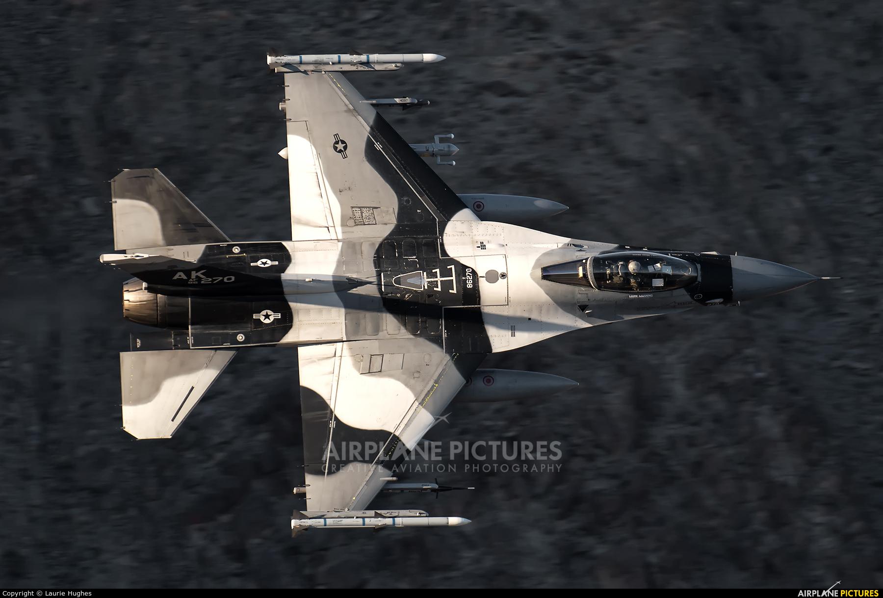USA - Air Force 86-0270 aircraft at Rainbow Canyon - Off Airport