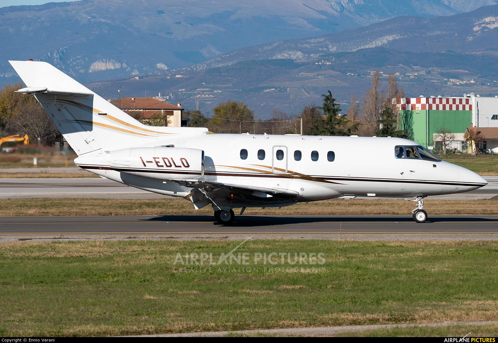 Hawker Beeechcraft Corp. I-EDLO aircraft at Verona - Villafranca