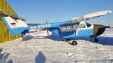 Private Cessna 337 Skymaster - at Omsk Tsentralny airport