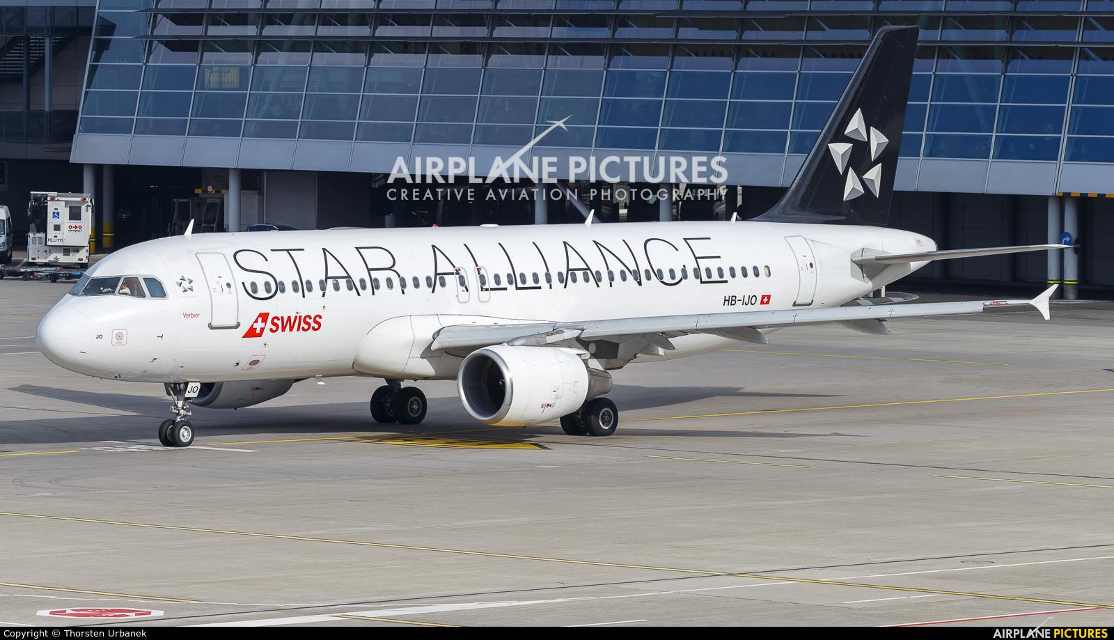 Swiss HB-IJO aircraft at Zurich
