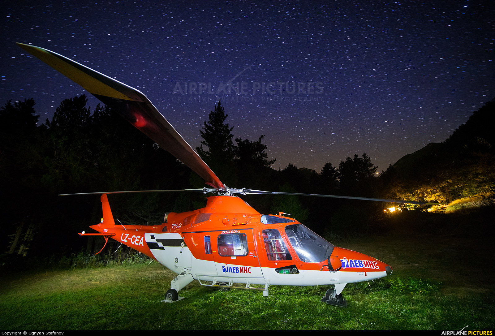 Heli Air Services LZ-CEA aircraft at Off Airport - Bulgaria