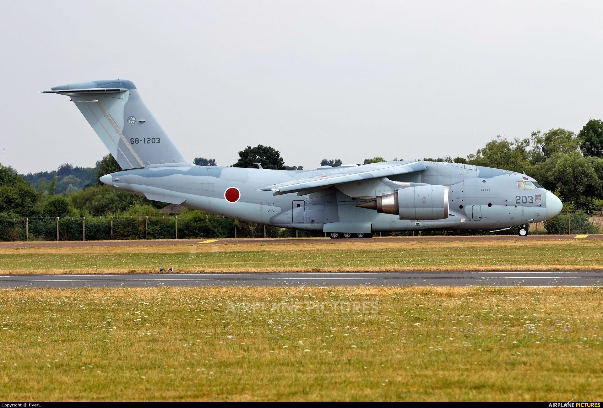Japan - Air Self Defence Force 68-1203 aircraft at Fairford