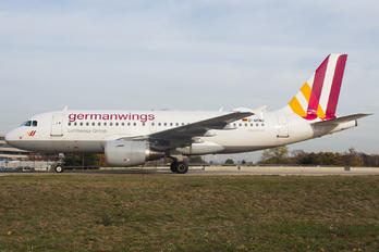 D-AKNU - Germanwings Airbus A319