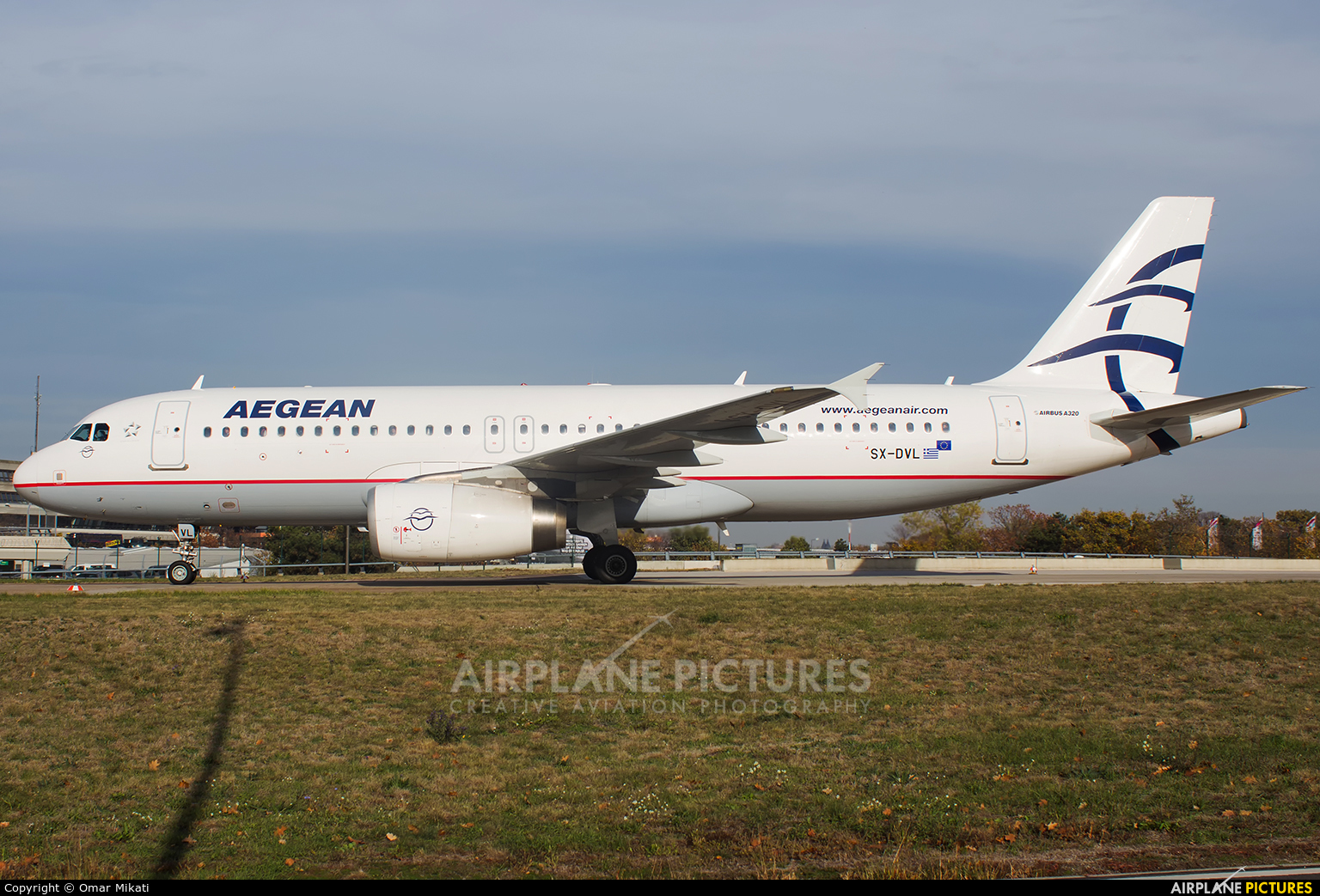 Aegean Airlines SX-DVL aircraft at Berlin - Tegel