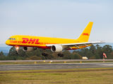 DHL Boeing 757 operates to Santiago de Compostela title=