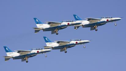 66-5745 - Japan - ASDF: Blue Impulse Kawasaki T-4