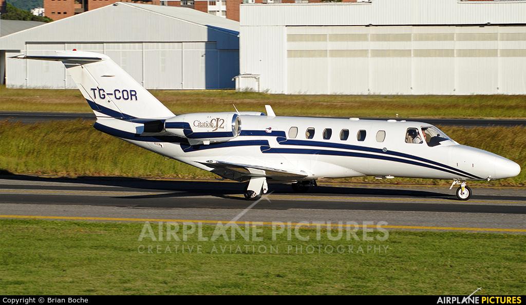 Private TG-COR aircraft at Guatemala - La Aurora