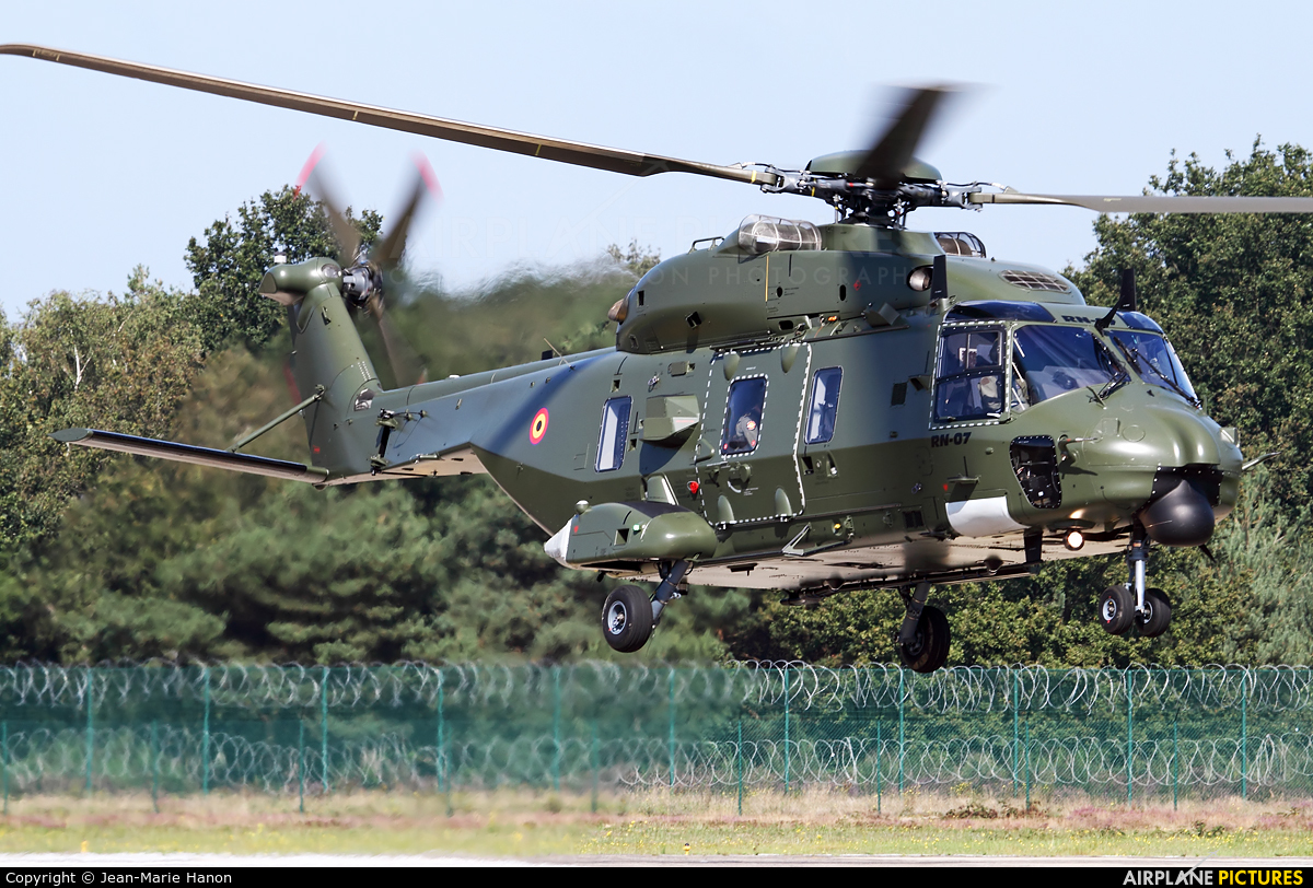 Belgium - Air Force RN-07 aircraft at Kleine Brogel