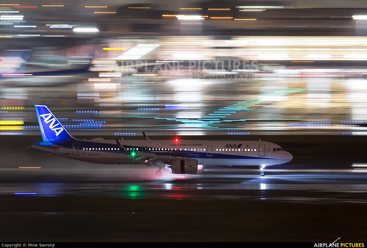 ANA - All Nippon Airways JA138A aircraft at Tokyo - Haneda Intl