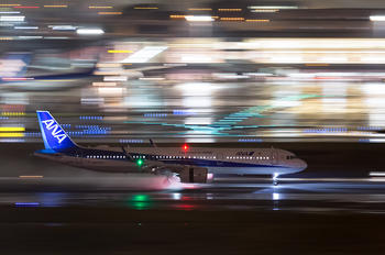 JA138A - ANA - All Nippon Airways Airbus A321