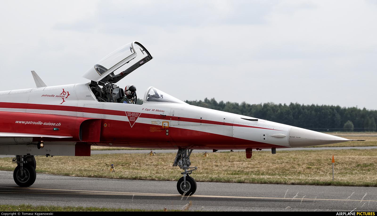 Switzerland - Air Force:  Patrouille de Suisse J-3080 aircraft at Radom - Sadków