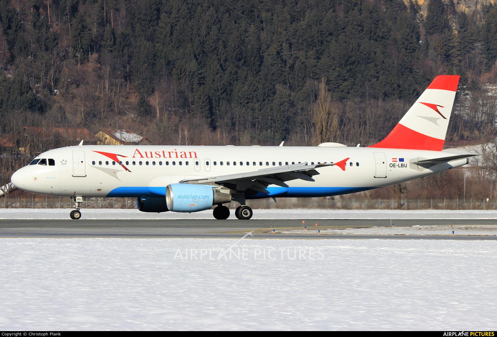 Austrian Airlines/Arrows/Tyrolean OE-LBU aircraft at Innsbruck