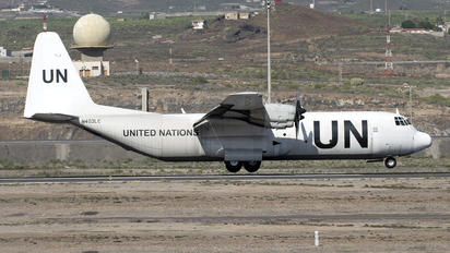 N403LC - United Nations Lockheed L-100 Hercules