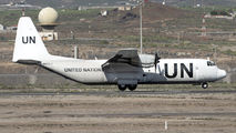 N403LC - United Nations Lockheed L-100 Hercules aircraft