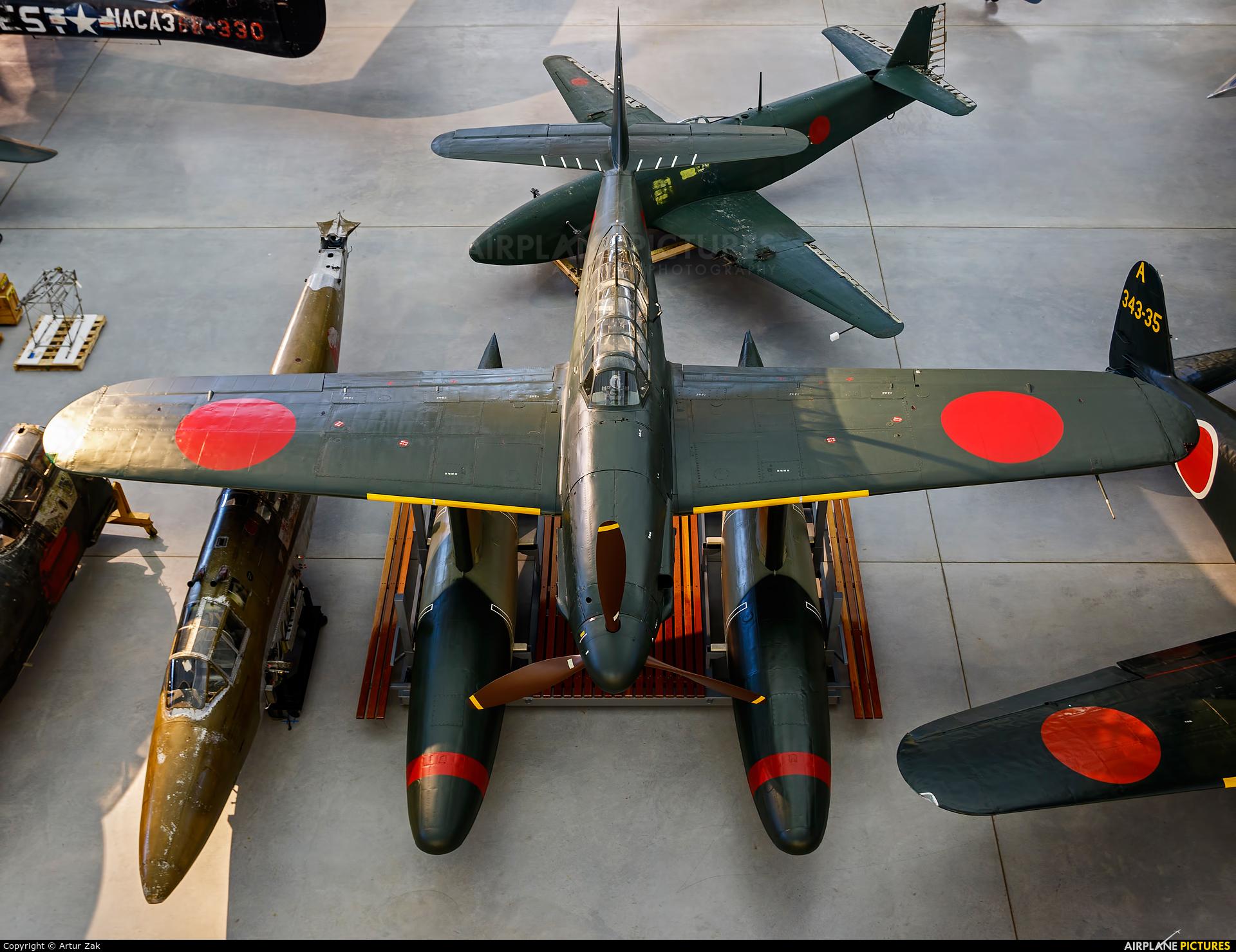 Japan - Imperial Navy (WW2) - aircraft at Steven F. Udvar-Hazy Center