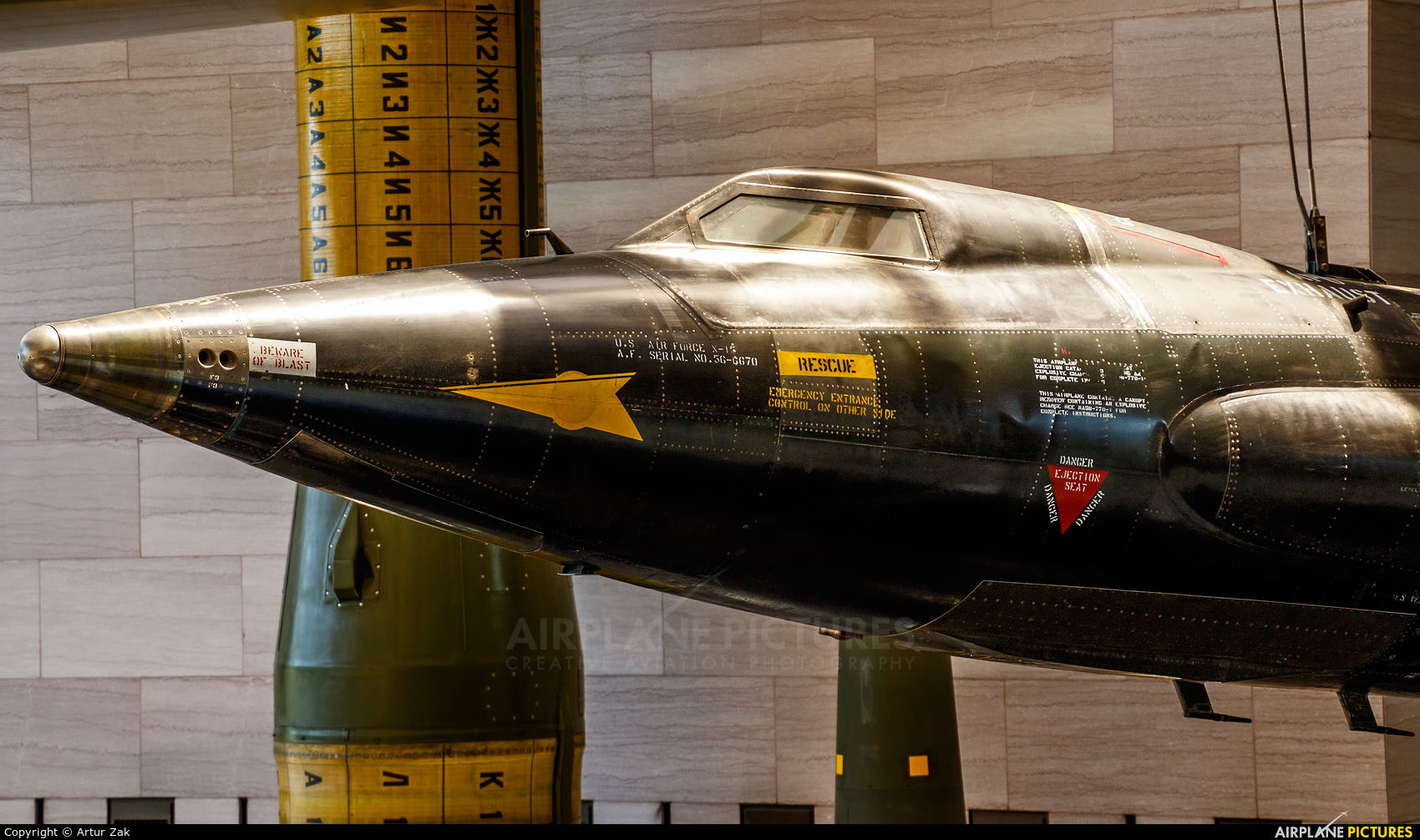 USA - Air Force 56-6670 aircraft at Smithsonian National Air and Space Museum