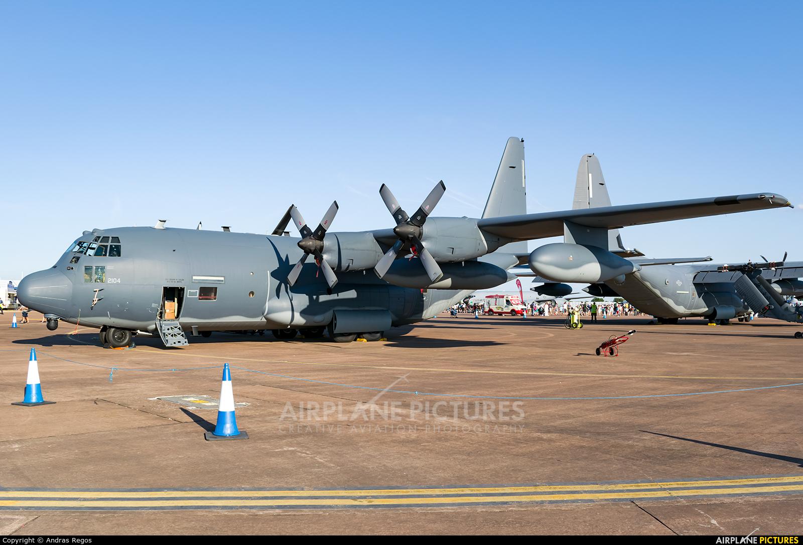 USA - Air Force 92-2104 aircraft at Fairford